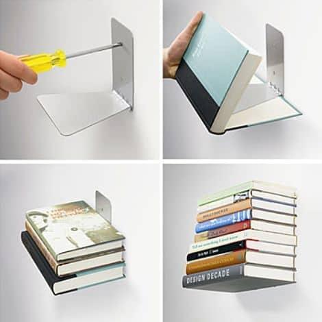 Agiftidea - Sleek Modern Design Book Shelf