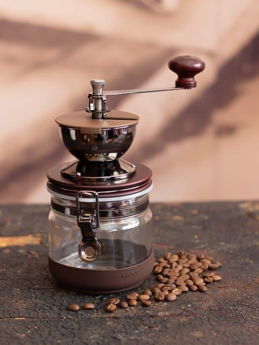 agiftidea - Hario Canister Ceramic Coffee Grinder 2