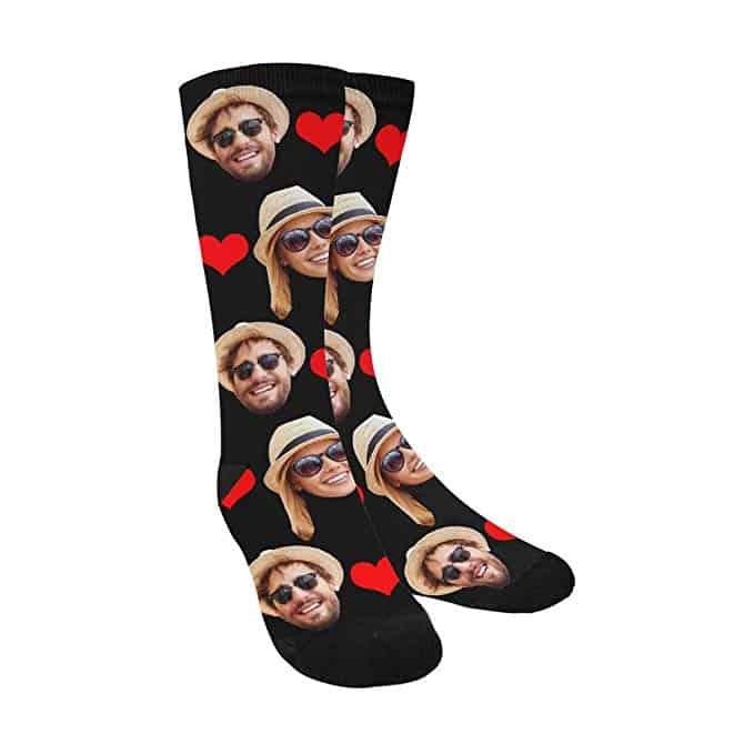 Custom Photo Face Socks