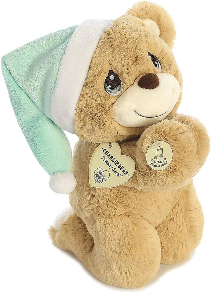 Charlie the Praying Bear a gifts for baptism girl