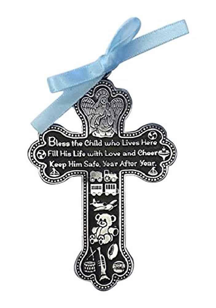 Crib Cross Pewter Medal
