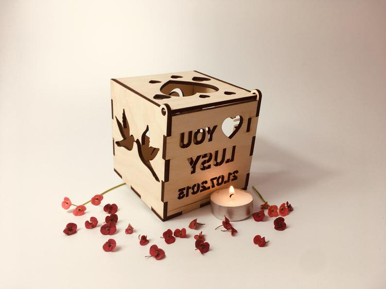 Romantic Candle Box