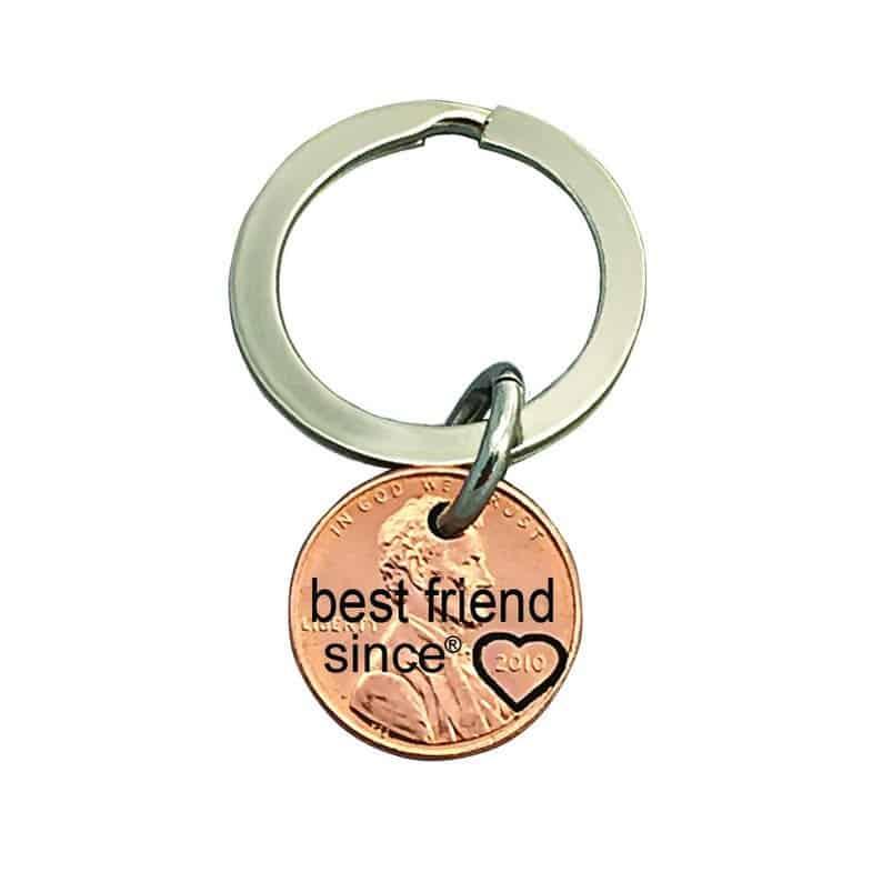 Best Friend Since Engraved Penny