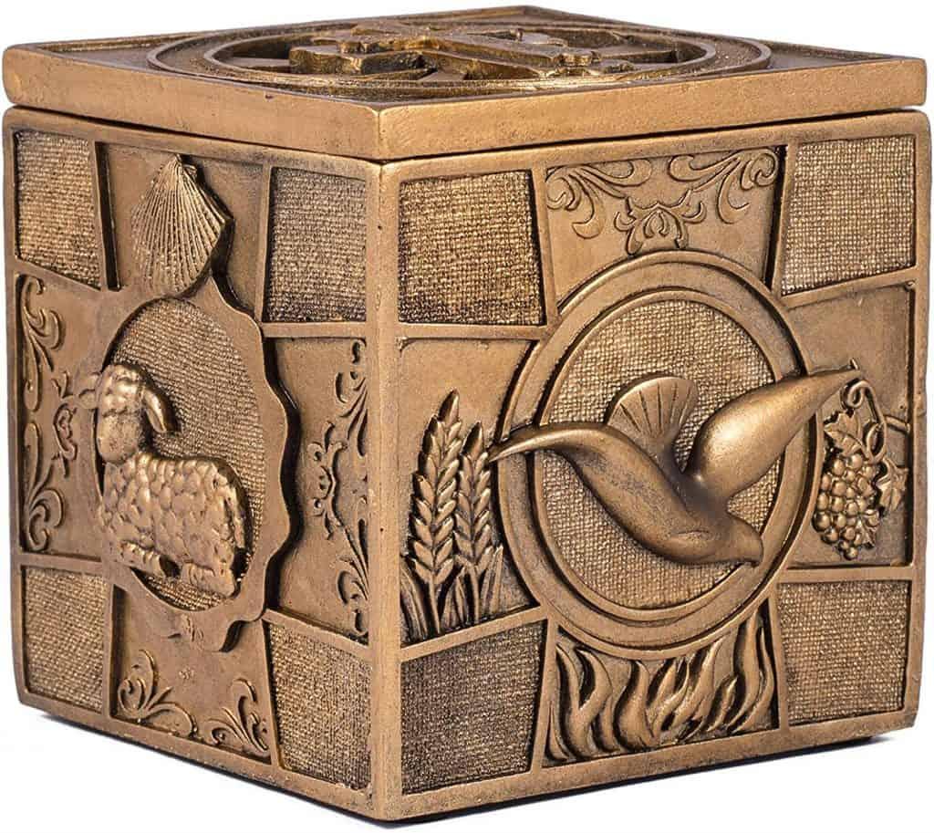 Bronze Sacrament Keepsake Box