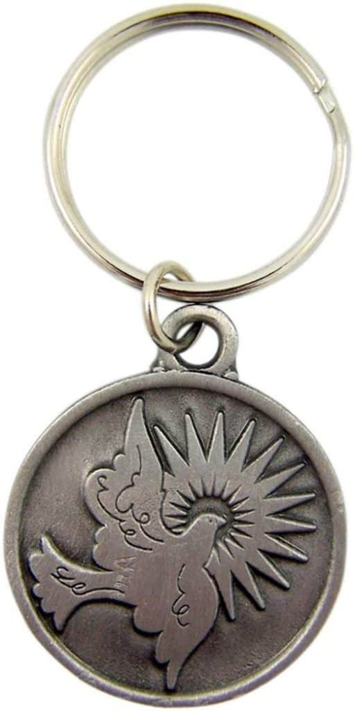Dove Spirit Confirmation Key Chain a confirmation gift for a boy