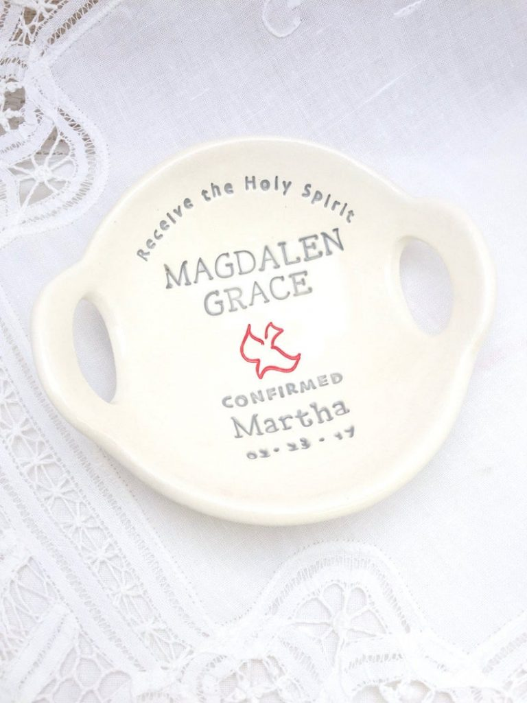 Personalized Confirmation Bowl