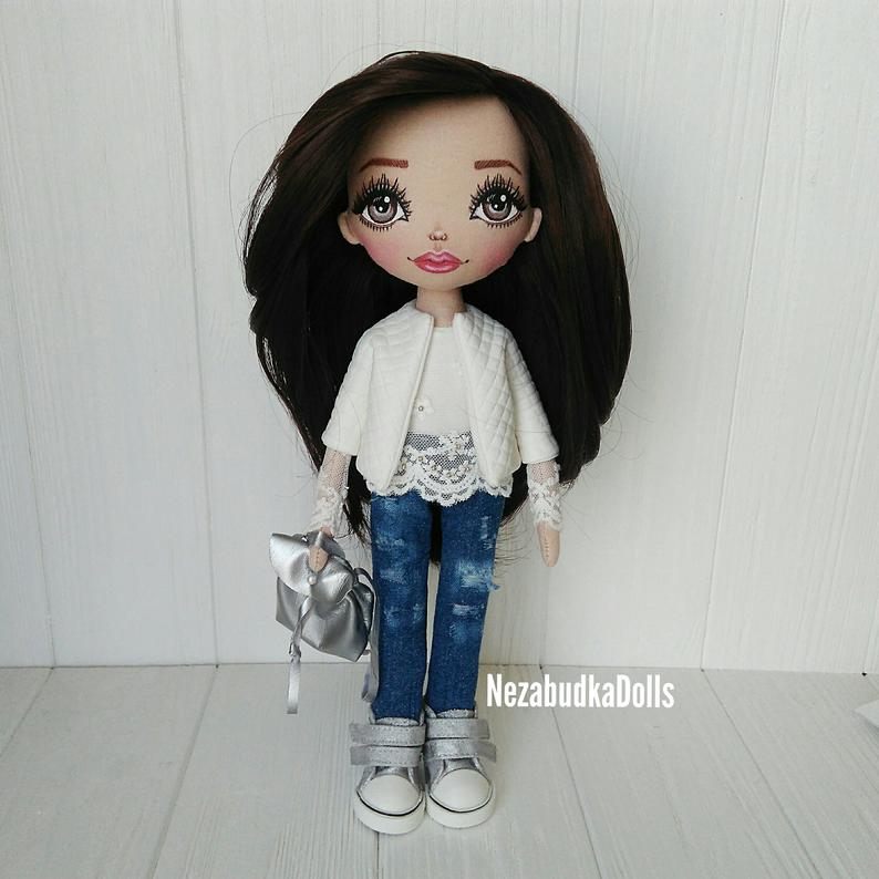 Personalized Textile Rag Doll