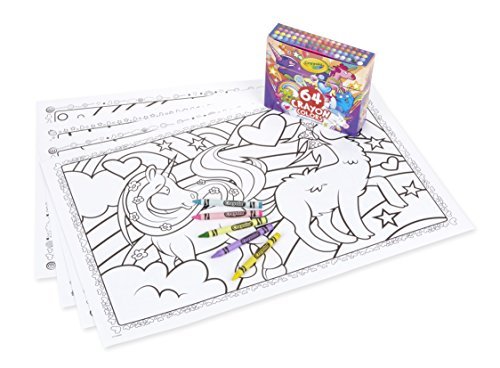 Coloring Books and Crayons for Kids